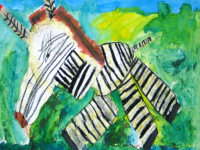 Olifanten tekenen bij Artis